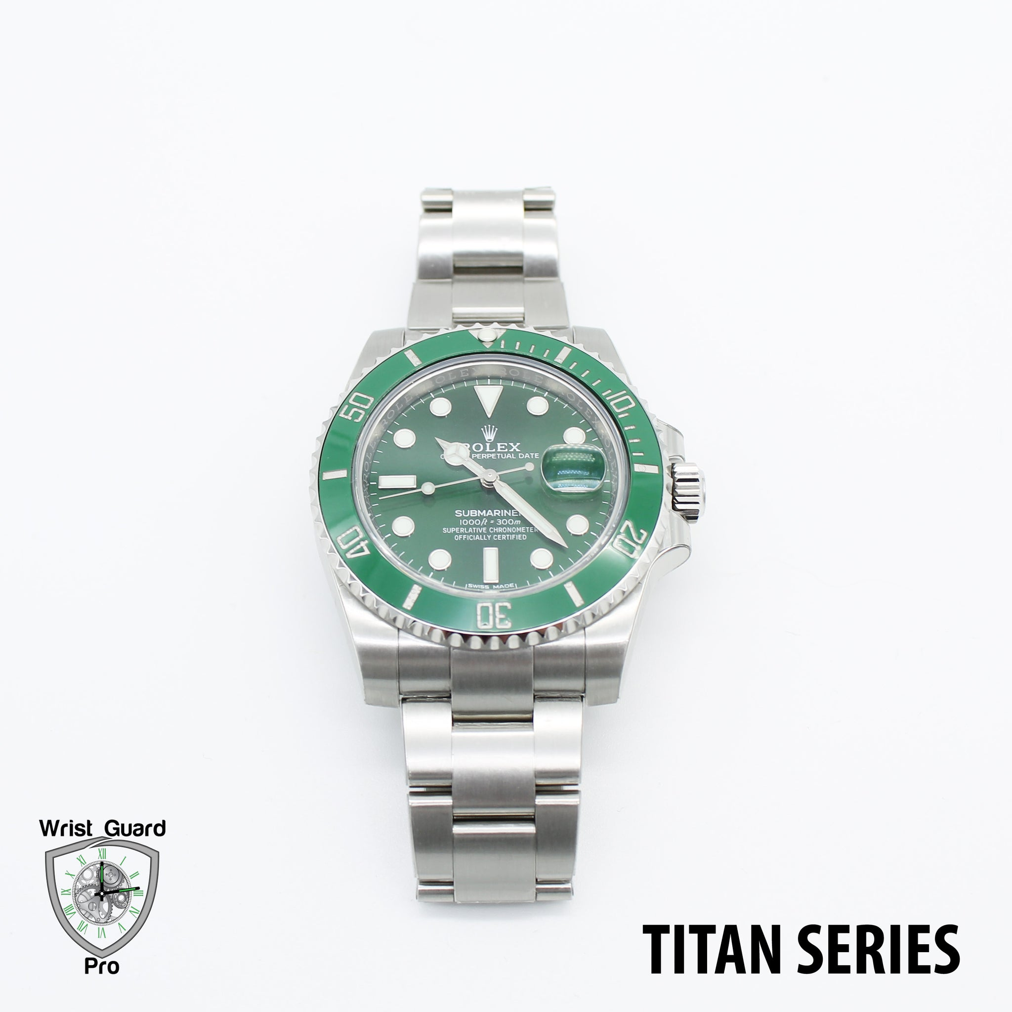 Rolex Submariner Date Ceramic 116610 TITAN Series Protection